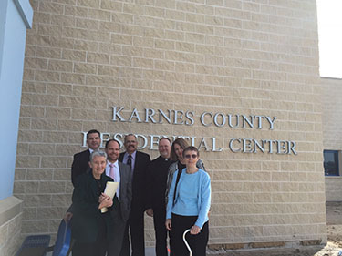 Investors visit Karnes County Residential Center, operated by The GEO Group.